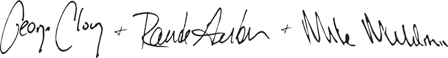 Signature of the founders